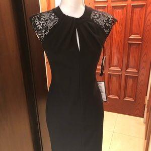 Betsy & Adam Little Black Dress NWT